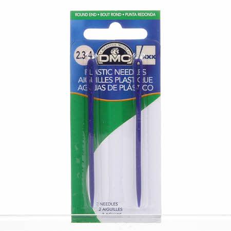 DMC Children's Plastic Needles 2 3/4in 2ct
