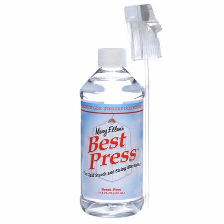Best Press Spray Starch Scent Free 16oz