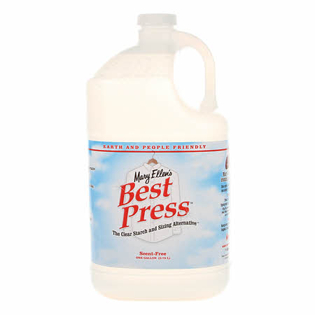 Best Press Spray Starch Scent Free Gallon Refill Size
