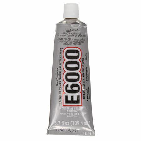 E6000 Adhesive Non-Flame Glue 3.7 oz (ORMD)
