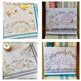 Hand Embroidery & Stitchery Example Products