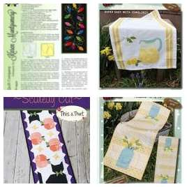 Placemats, Table Runners & Toppers Example Products
